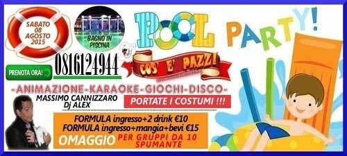 COS E PAZZ Taverna Allegra Licola Sabato 8 Agosto 2015